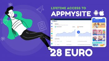 اشتراك AppMySite مدى الحياة
